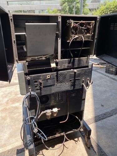 gabinete metálico para analizador de gases vehículares
