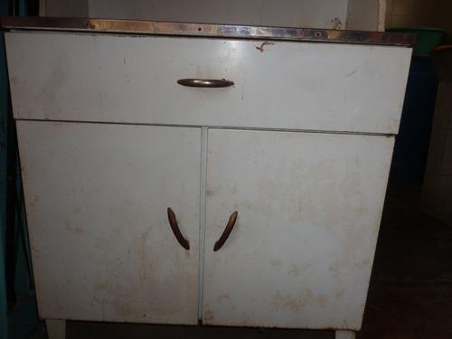 gabinete metálico para cocina