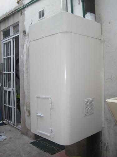 gabinete metálico para termotanque y generadores eléctricos