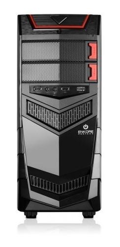 gabinete micronics pentaxx c/250w 8cm fan led enkore