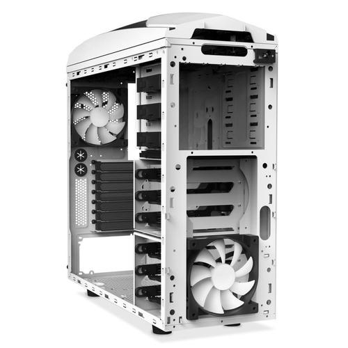 gabinete mid-tower nzxt phantom 240 branco lateral acrílico