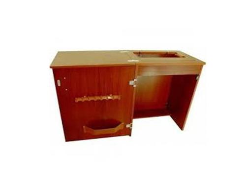 gabinete: móvel para máquina de costura