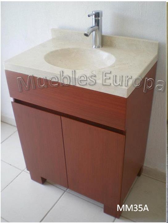 Gabinete mueble ba o con loza de marmol precios fabrica 5 en mercado libre - Precio mueble bano ...