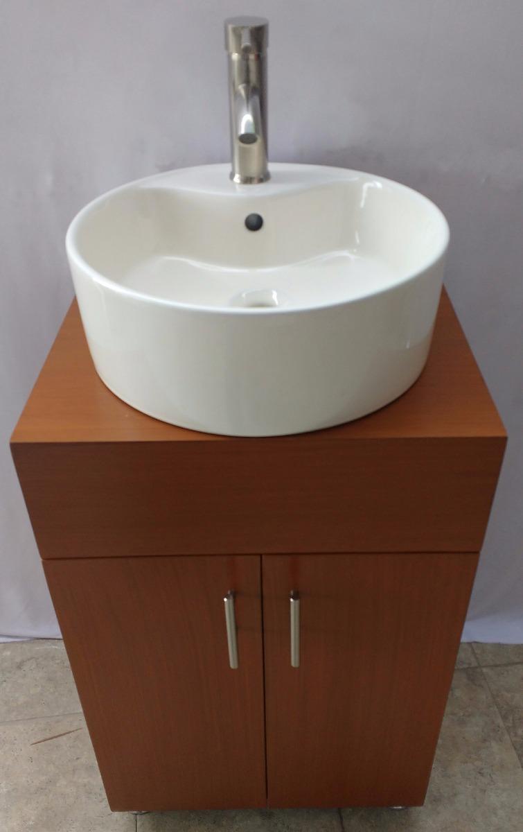 Gabinete mueble para ba o con ovalin y monomando 3 999 for Gabinetes de bano df
