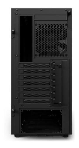 gabinete nzxt h500 black, blue y red usb 3.1 pacishop wilson