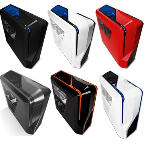 gabinete nzxt phantom 410 gamer 3 fans mid tower atx usb 3.0