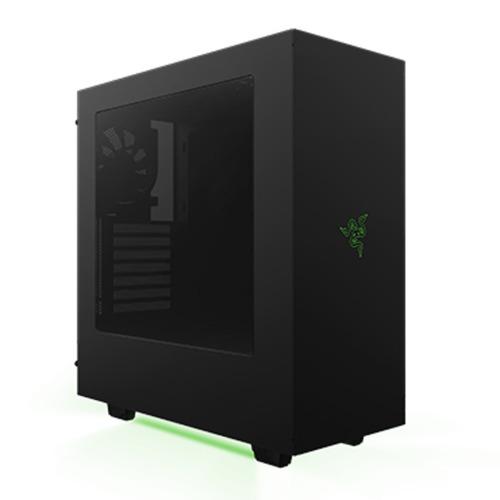 gabinete nzxt s340 designed by razer / atx / window