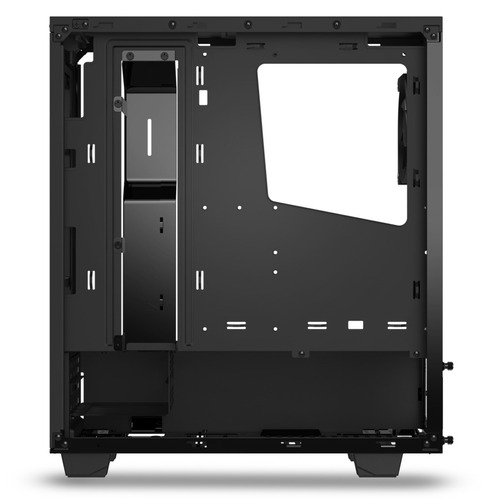 gabinete nzxt s340 negro gamer gaming torre mediana