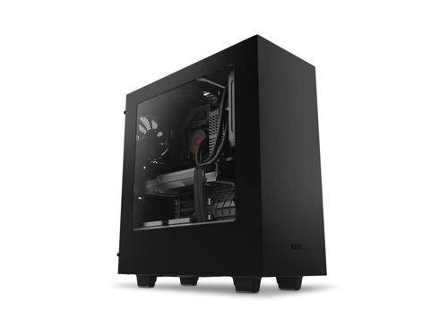 gabinete nzxt s340 preto - lateral em acrílico