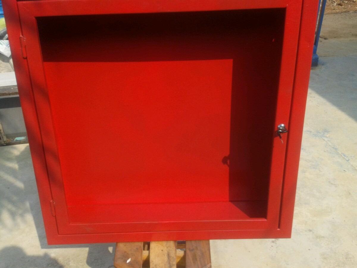 Gabinete o caja de empotrar manguera contra incendios bs for Medidas contra incendios