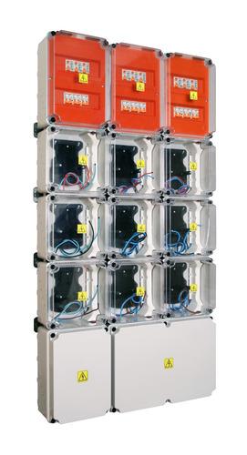 gabinete para 9 medidores monofasicos roker no conextube