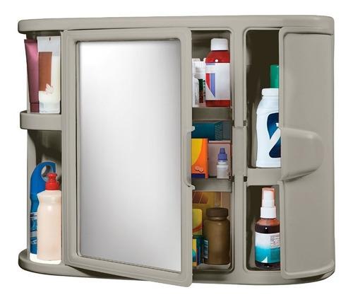 gabinete para baño con espejo wengue rimax
