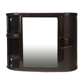 Gabinete Para Baño Plastico Con Espejo Rimax