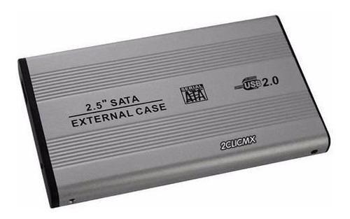 gabinete para disco duro de laptop 2.5 sata - usb 2.0