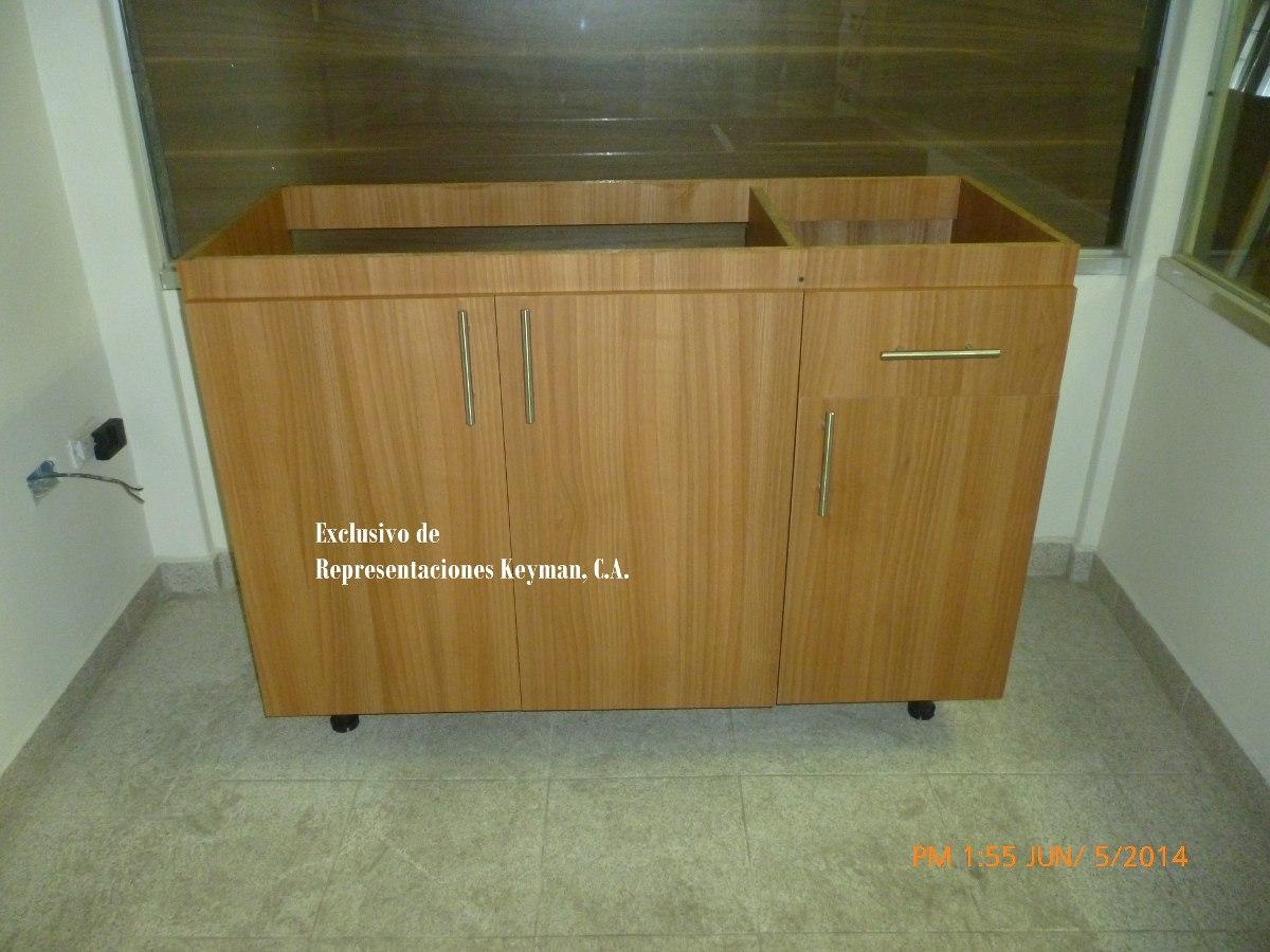 Gabinete para fregadero de sobreponer 120 x50 bs for Comprar gabinetes de cocina
