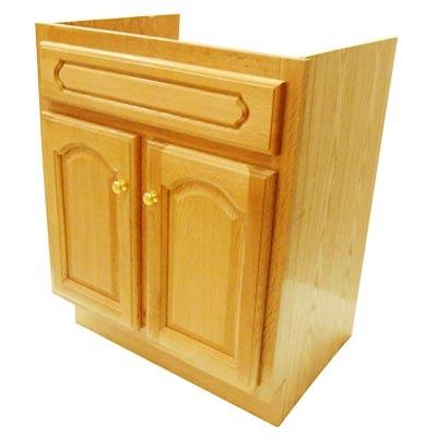 Gabinete para lavabo 24 x18 x30 madera de encino 3 604 for Gabinete para lavabo