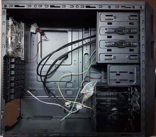 gabinete pc gamer alta gama con led, 2x fan led 12cm nuevos