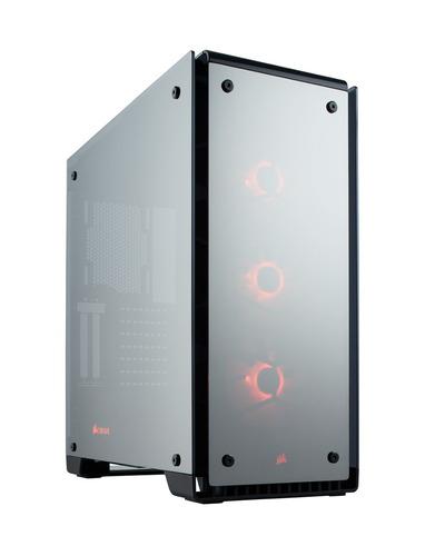 gabinete pc gamer atx corsair crystal 570x rgb full mirror