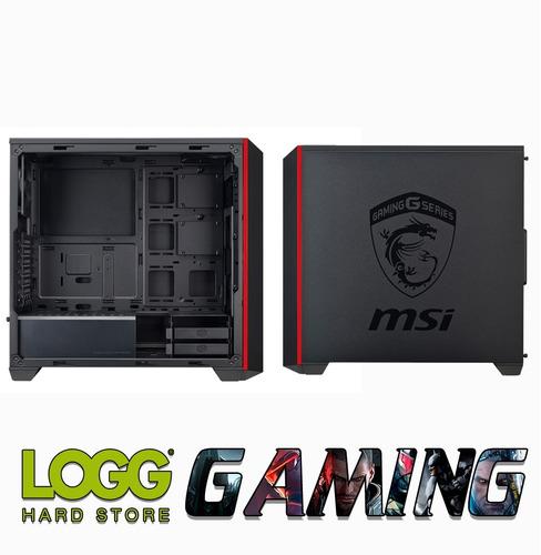 gabinete pc gamer coolermaster masterbox 5 msi edition