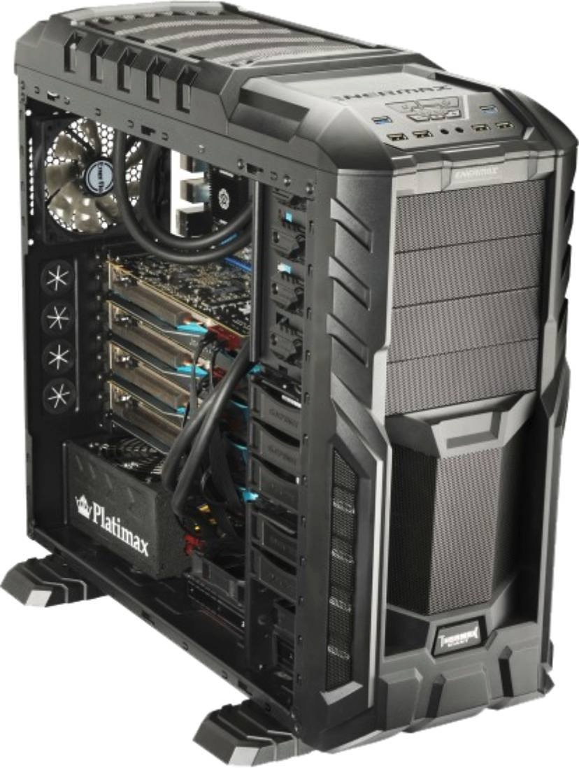 Gabinete Pc Gamer Enermax Thormax Full Torre Atx Luz Led