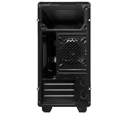 gabinete pc gamer taiding m800-a usb 3.0 fan 120mm x 2 rojo