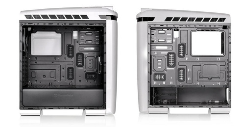 gabinete pc gamer thermaltake versa c22 rgb white fan120