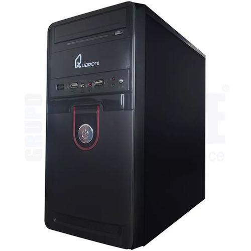 gabinete quaroni 92005xw micro atx 400w usb2.0 midi-tower