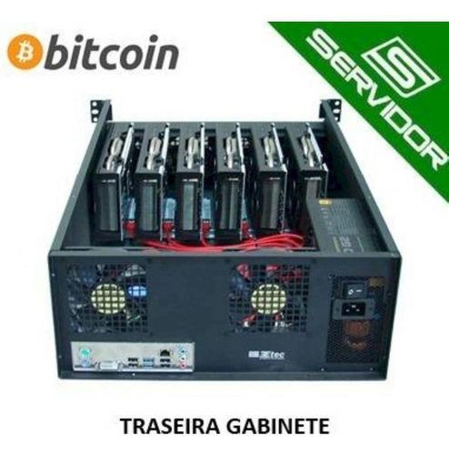 gabinete rack 3u 19 pol. 3etec para mineração