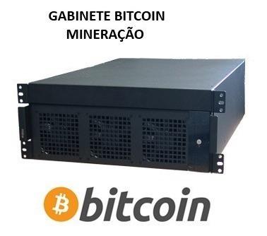 gabinete rack bitcoin mineração - hb store