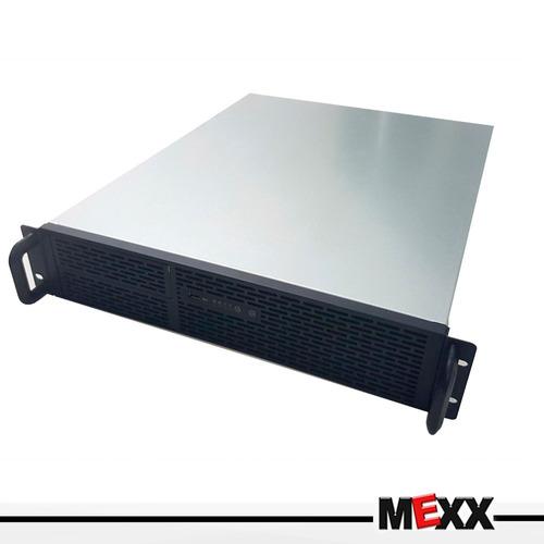gabinete rackeable 2u550 sfx 2u 3x bahias 2x usb mexx 3
