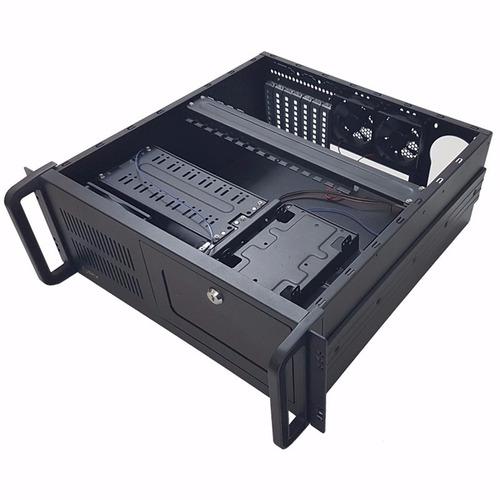 gabinete rackeable sfx a4u450 p/ rack 19 4u - compuelite