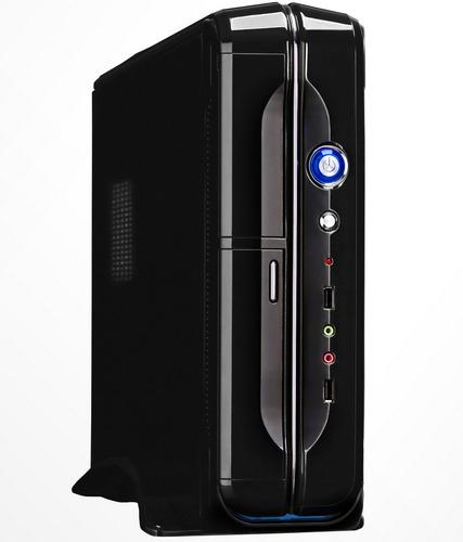 gabinete slim tower sentey ss1 2420 c/fuente 450w usb x 2
