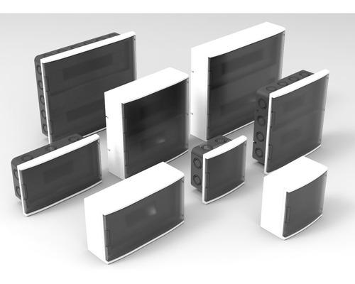 gabinete tablero caja din termica 36 polos exterior variplas
