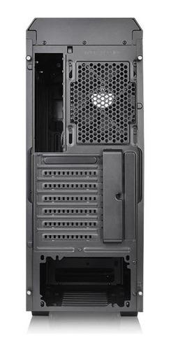 gabinete thermaltake v100 lateral de acrilico + 1 fan