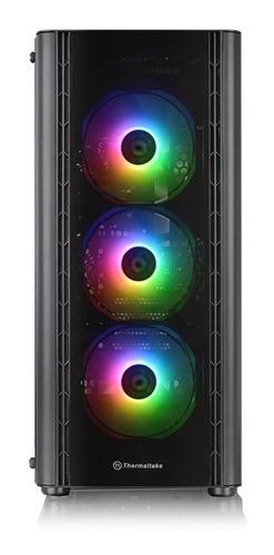 gabinete thermaltake v250 mid-tower tg argb ca1q5-00m1wn-00