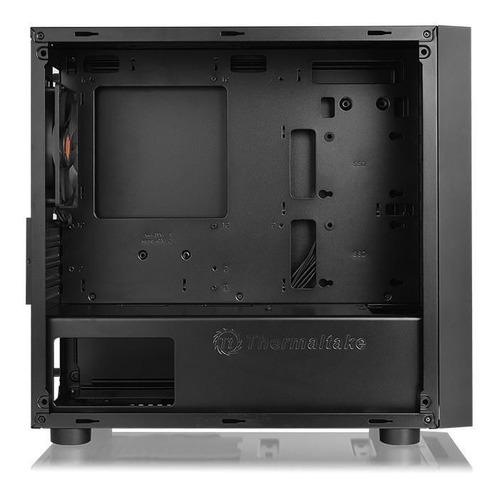 gabinete thermaltake versa h18 tempered glass negro /w gamer