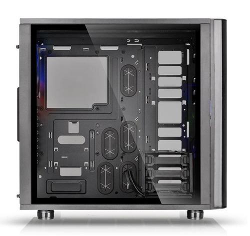 gabinete thermaltake view 31 tg black / sin fuente