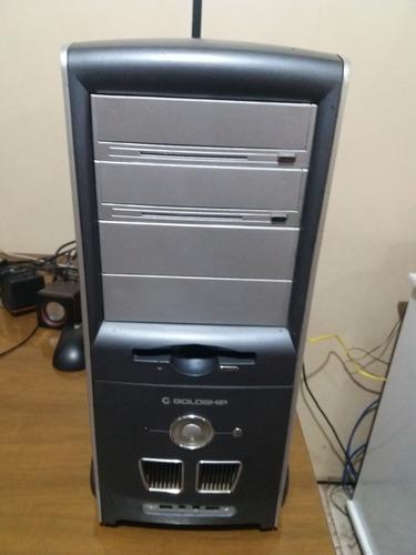 gabinete/cpu dual core 3gb