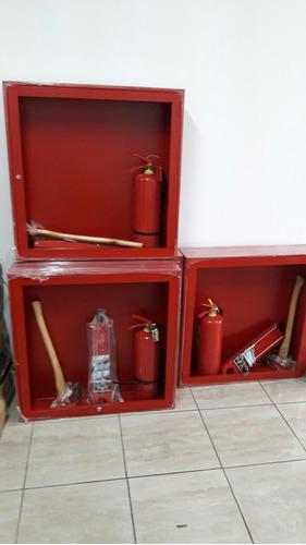 gabinetes contra  incendios  de 9 elementos completos