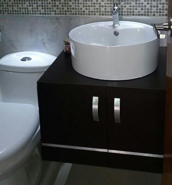 Gabinetes de ba o moderno para sobre poner lavamanos bs for Gabinetes para bano df