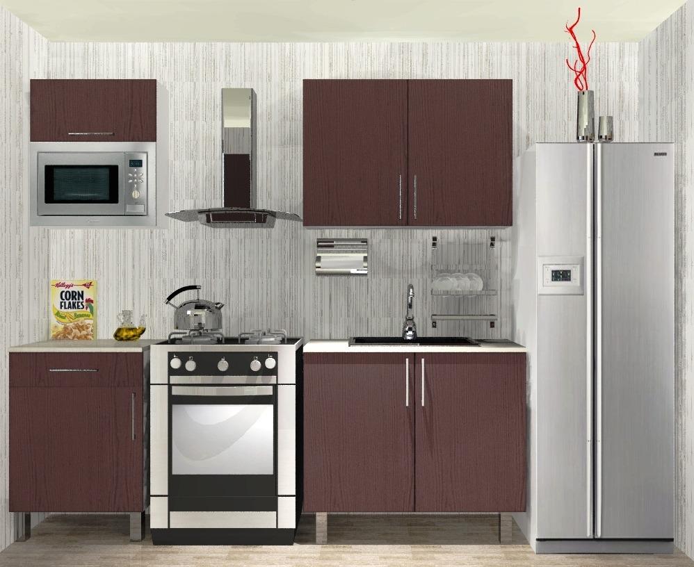 Gabinetes Módulos De Cocina Mueble Para Micro