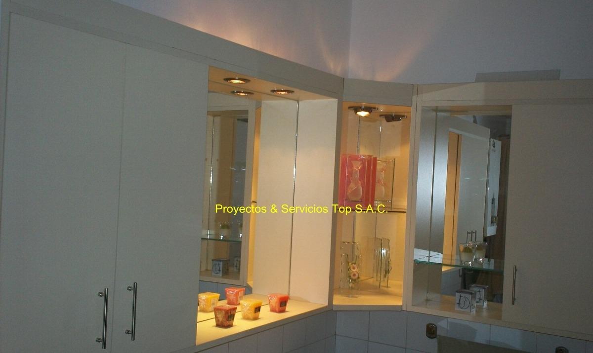 Gabinetes para ba o en melamina botiquin s 450 00 en for Gabinetes de bano en madera