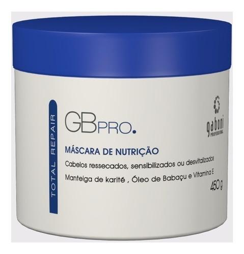 gaboni máscara total repair de nutrição 450g