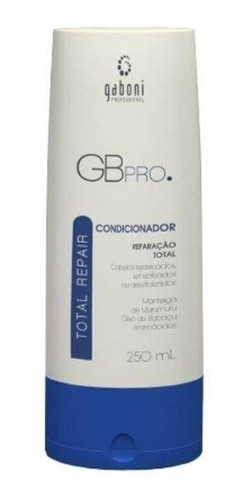 gaboni total repair condicionador de reconstrução 250ml