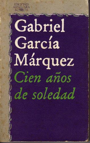 gabriel garcia marquez - cien años de soledad - usado