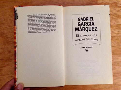 gabriel garcía márquez. el amor en los tiempos del cólera.