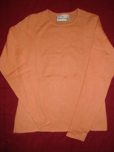 gabriela de fernandez sweater coral s envio gratis cuotas!!