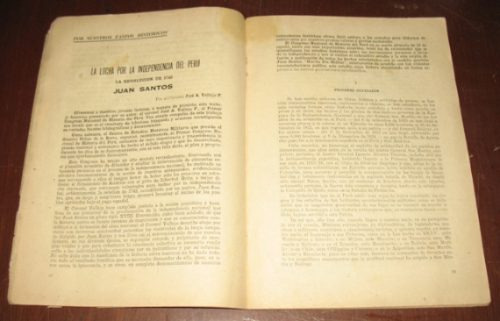 gaceta pre militar n° 45 1954 - tacna rebelión juan santos