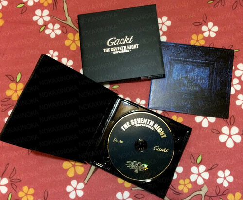 Gackt Cd Original Seventh Night * Japão Jrock Visual Key ...