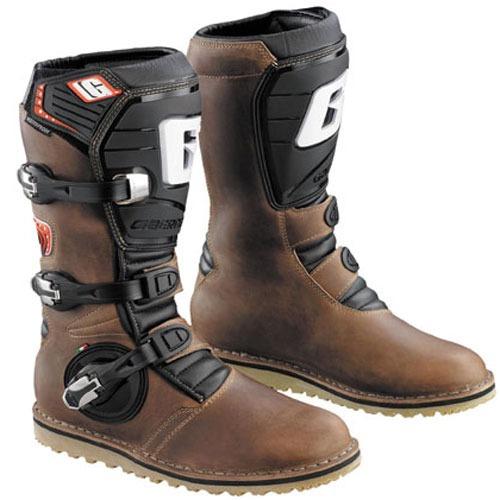 gaerne equilibrio engrasada botas marrón 14